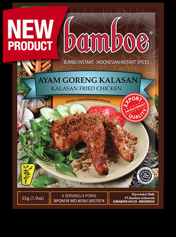 Bamboe Ayam Goreng Kalasan 55g From Buy Asian Food 4u