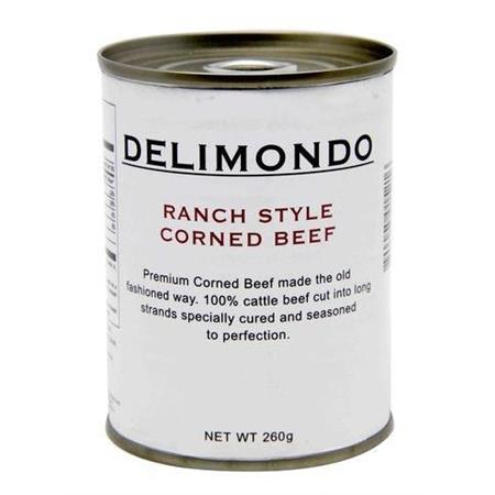 Delimondo Corned Beef Ranch Style 260g