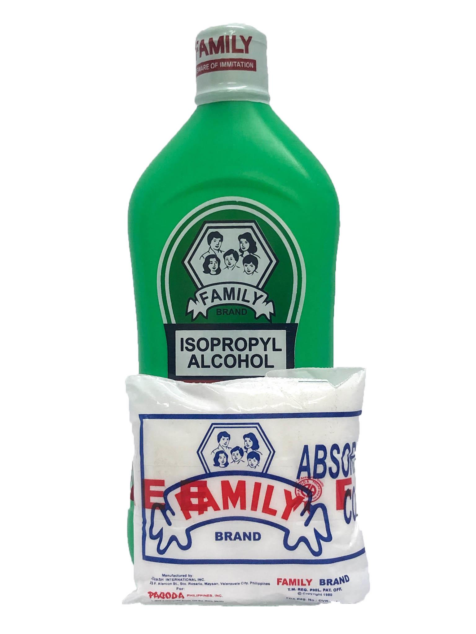 Family Brand Rubbing Alcohol 70% 500ml from Buy Asian Food 4U