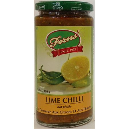 Ferns' Lime Chilli Pickle (Hot) 380g