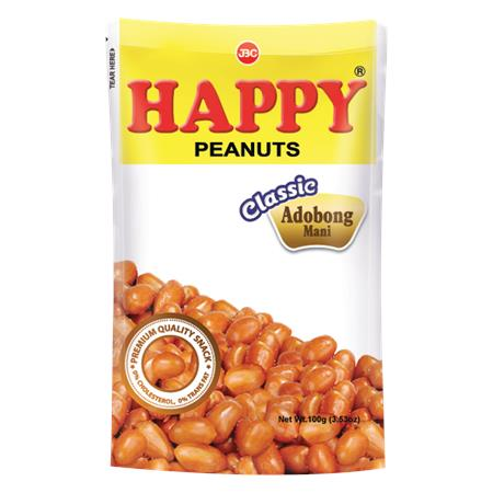 Happy Peanuts Classic Adobong Mani 100g