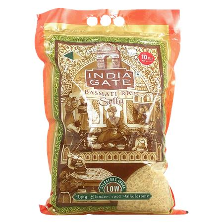 India Gate Basmati Rice Sella 10kg
