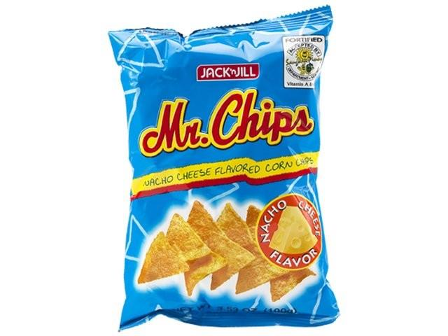 Jack n 39 jill mr chips nacho corn chips cheese flavour for Jj fish and chips