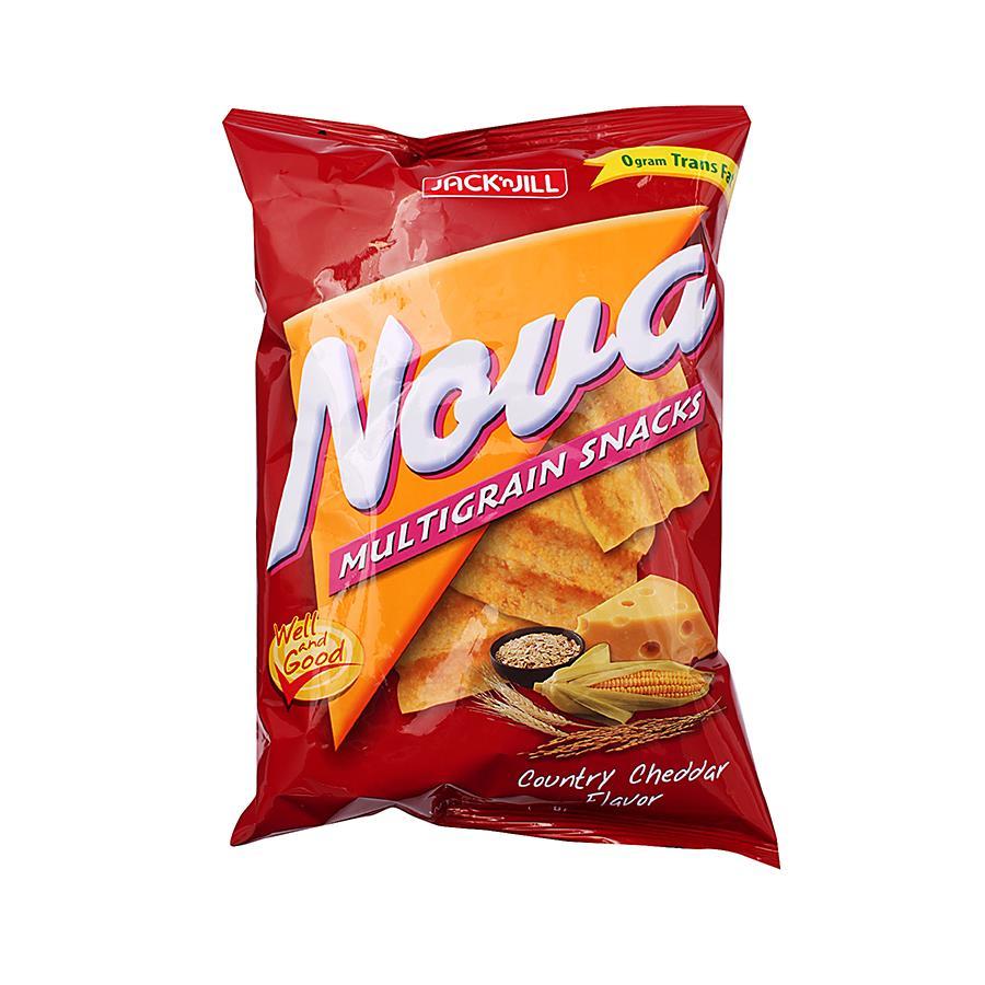 Jack N Jill Nova Multigrain Chips Country Cheddar Flavour