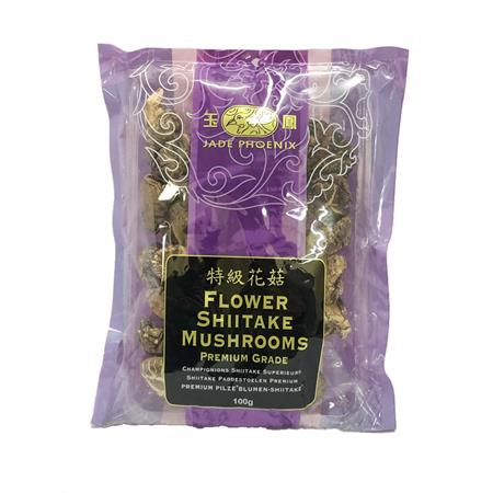 Jade Phoenix Shitake Flower Mushrooms 100g