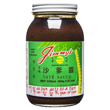 Jimmy's Sate Sauce 360g