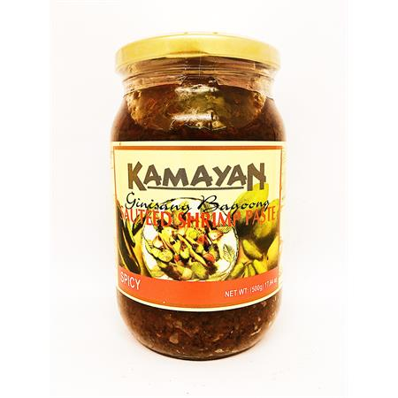 Kamayan Sauteed Shrimp Paste Spicy 500g