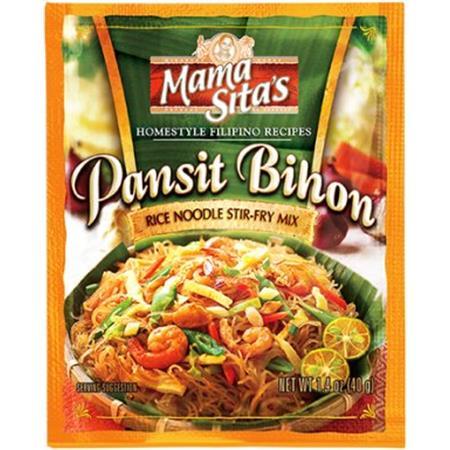 Mama Sita S Pancit Bihon Rice Noodle Stir Fry Mix 40g From
