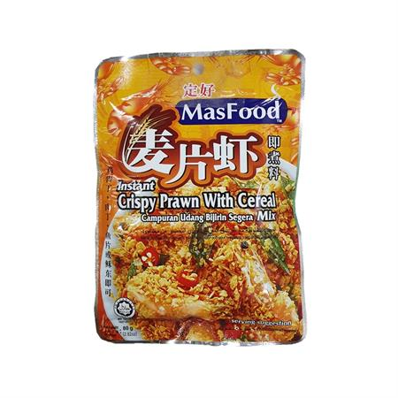 MasFood Crispy Prawn with Cereal 80g