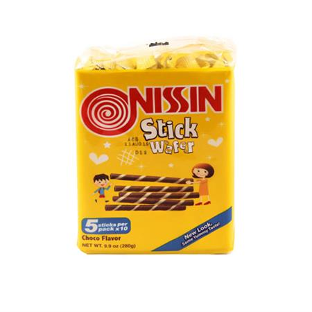 Monde Nissin Stick Wafer Chocolate 280g
