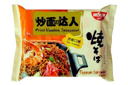 Nissin Fried Noodles Teppan Yakisoba Flavour 90g from Buy ...