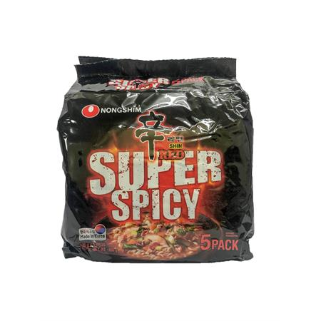Nongshim Shin Red Super Spicy 600g
