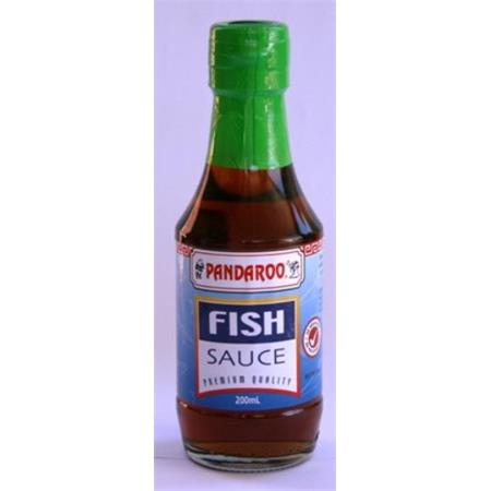 Pandaroo fish sauce 200ml from buy asian food 4u for Asian fish sauce