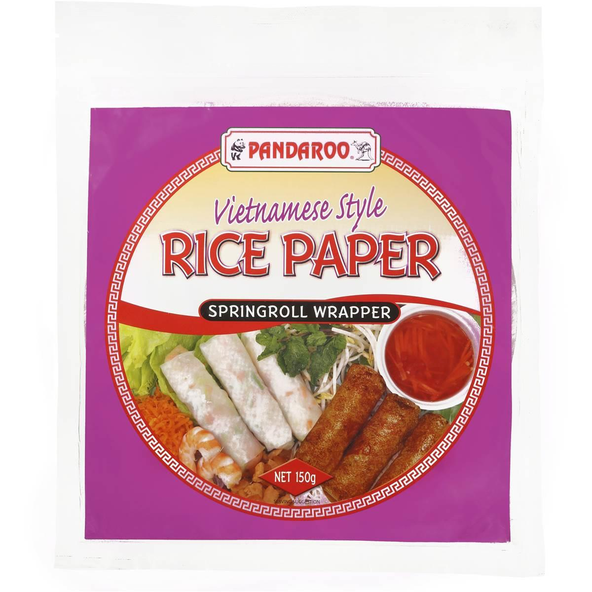 Pandaroo Spring Roll Wrapper 150g From Buy Asian Food 4u