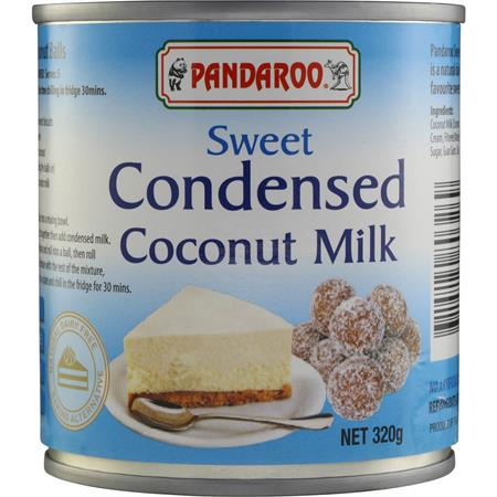Pandaroo Sweet Condensed Coconut Milk 320g