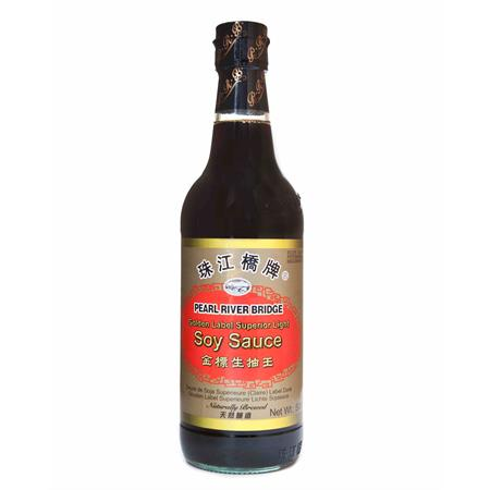 Pearl River Bridge Superior Light Soy Sauce Gold Label 600ml