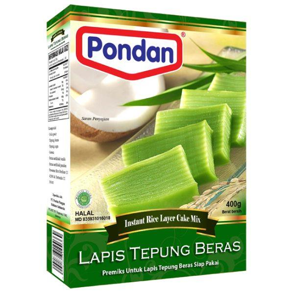 Pondan Lapis Tepung Beras Cake Mix 400g From Buy Asian Food 4u