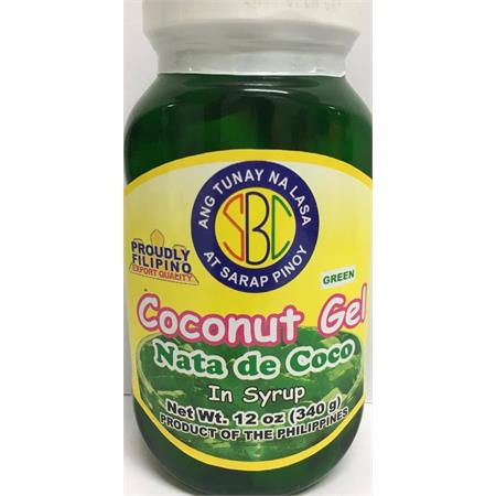 SBC Coconut Gel Green 340g