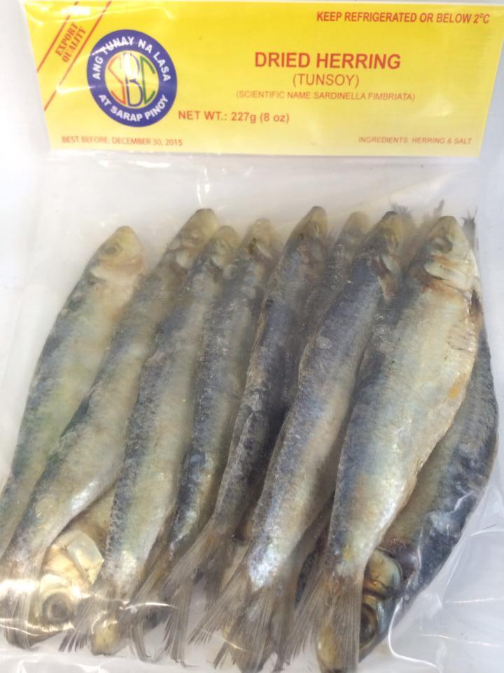 Sbc Dried Herring Tunsoy 227 From Buy Asian Food 4u