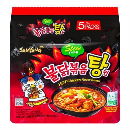 Samyang Hot Chicken Flavor Ramen Stew Type 725g
