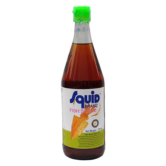 Squid brand fish sauce 725ml from buy asian food 4u for Cooking with fish sauce