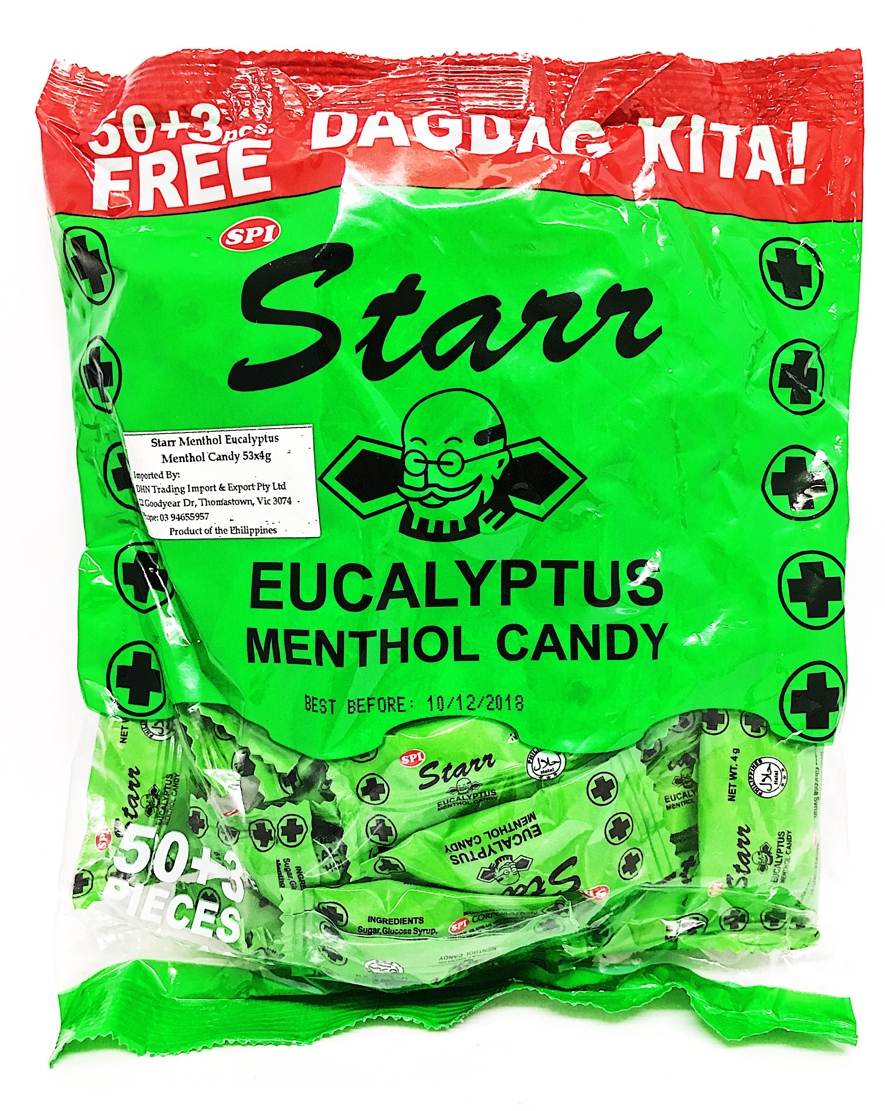 Starr Eucalyptus Menthol Candy 215g From Buy Asian Food 4u