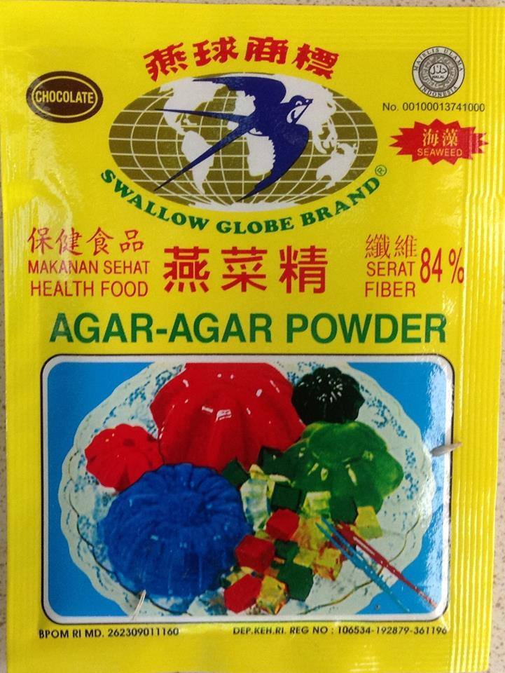 Swallow agar agar powder chocolate 7g from buy asian food 4u for Agar agar cuisine