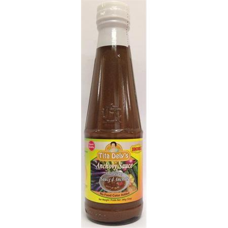 Tita dely 39 s anchovy sauce balayan 340g from buy asian for Fermented fish sauce
