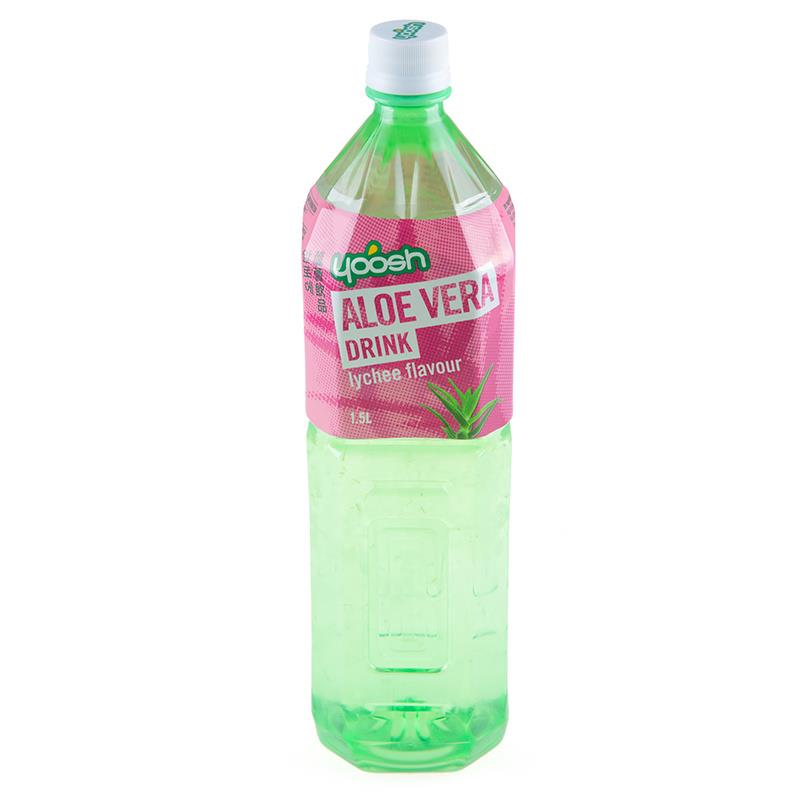Yoosh aloe vera drink lychee flavour 1 5l from buy asian for Cocktail 5l